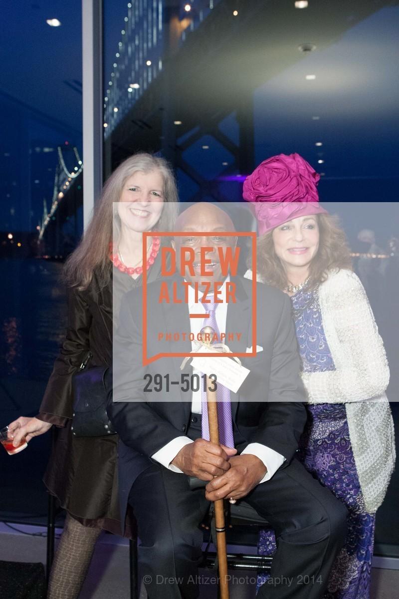 Leah Garchik, Willie Brown, Donna Huggins, Photo #291-5013