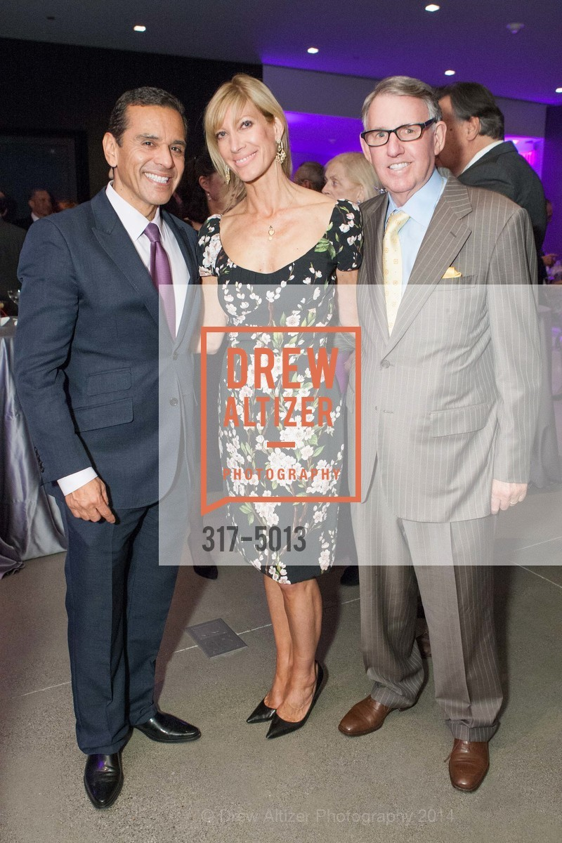 Antonio Villaraigosa, Janet Reilly, Clint Reilly, Photo #317-5013
