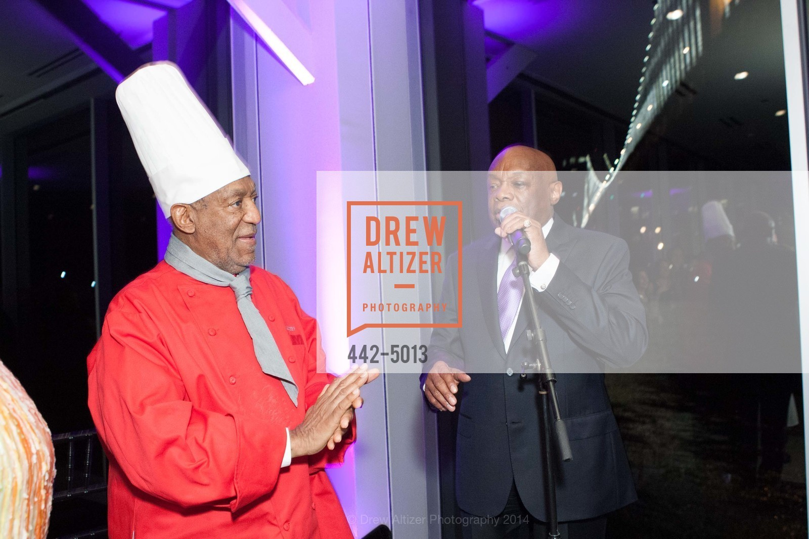 Bill Cosby, Willie Brown, Photo #442-5013
