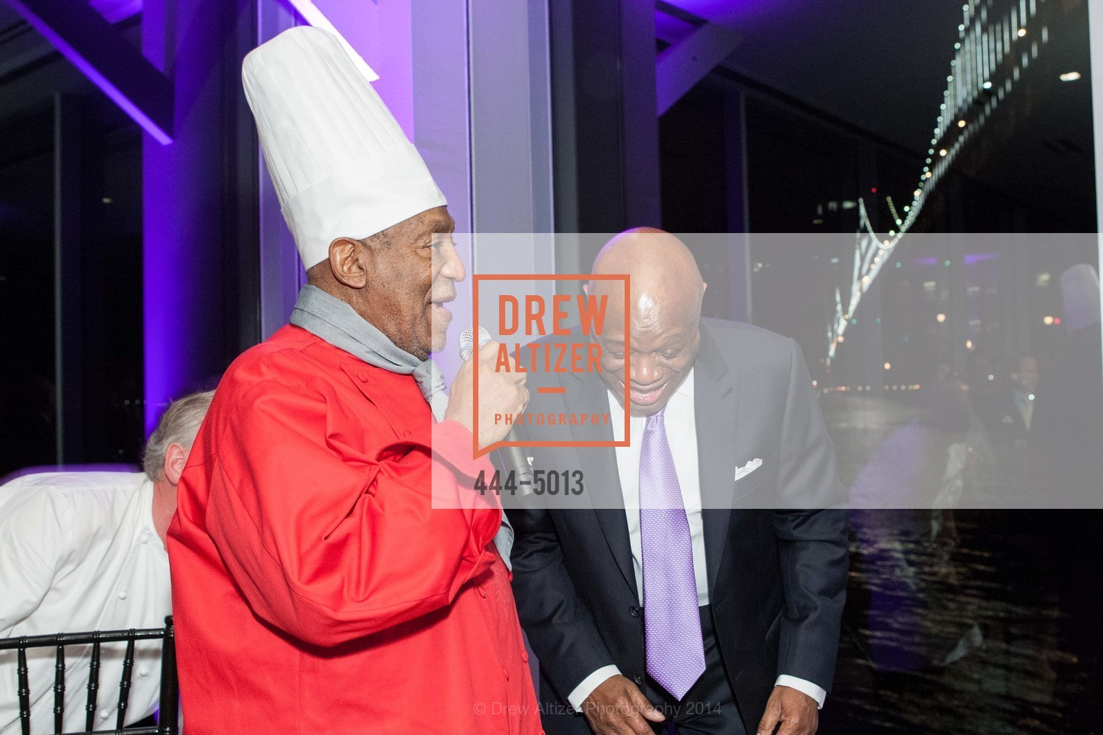 Bill Cosby, Willie Brown, Photo #444-5013