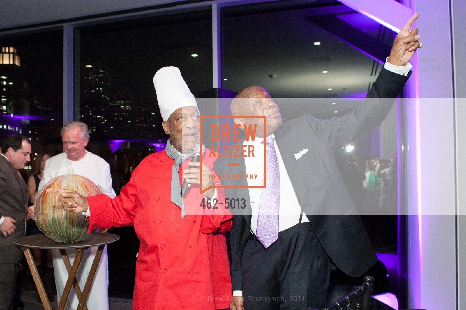 Bill Cosby, Willie Brown, Photo #462-5013