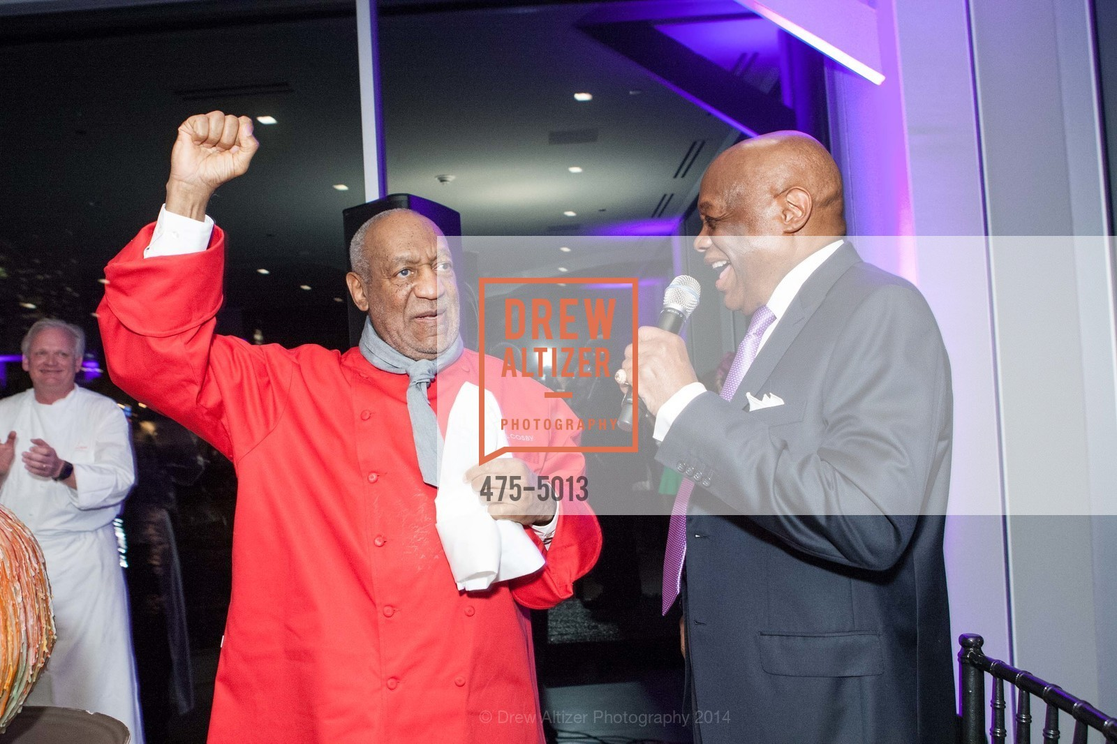 Bill Cosby, Willie Brown, Photo #475-5013