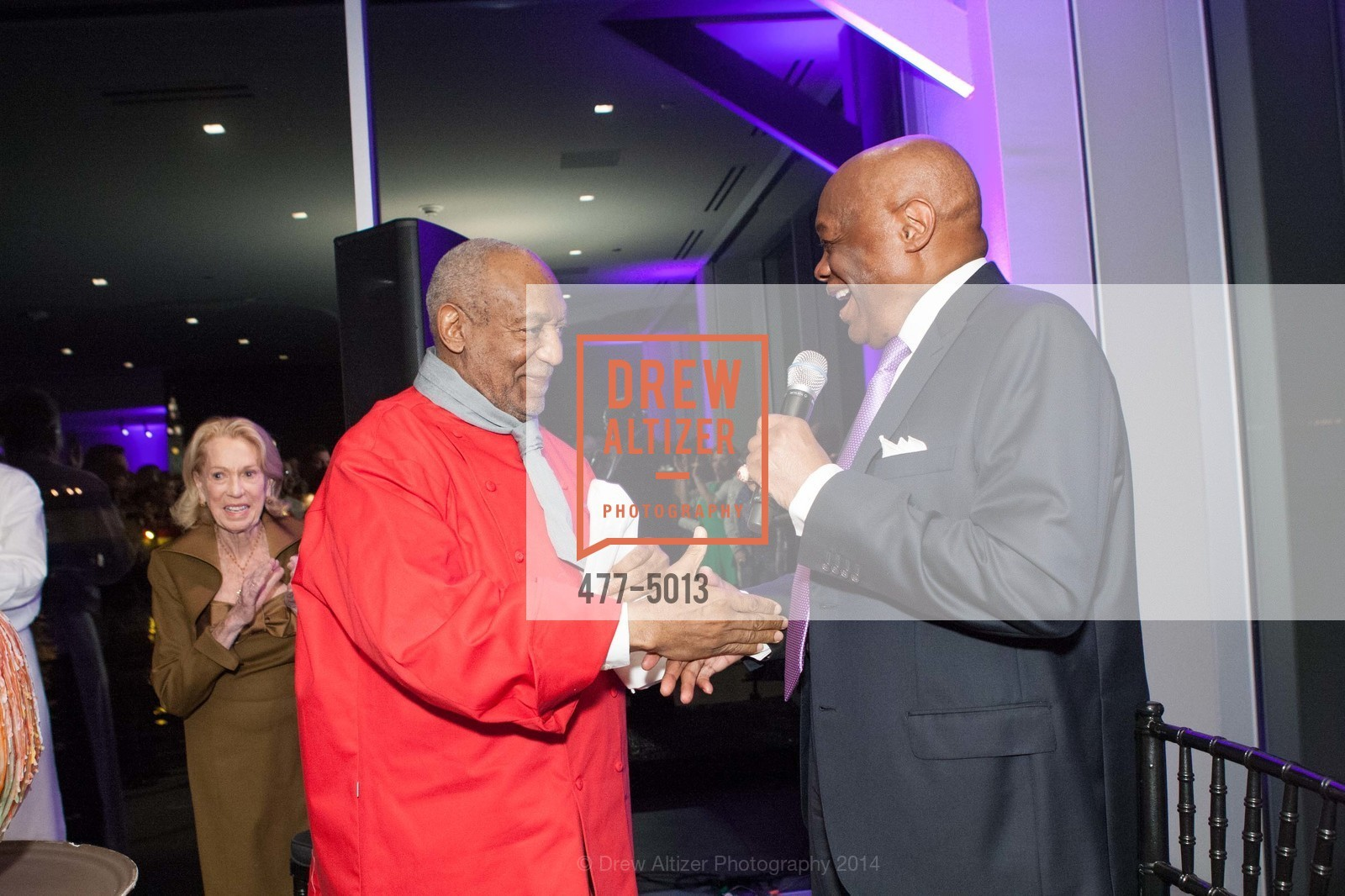 Bill Cosby, Willie Brown, Photo #477-5013