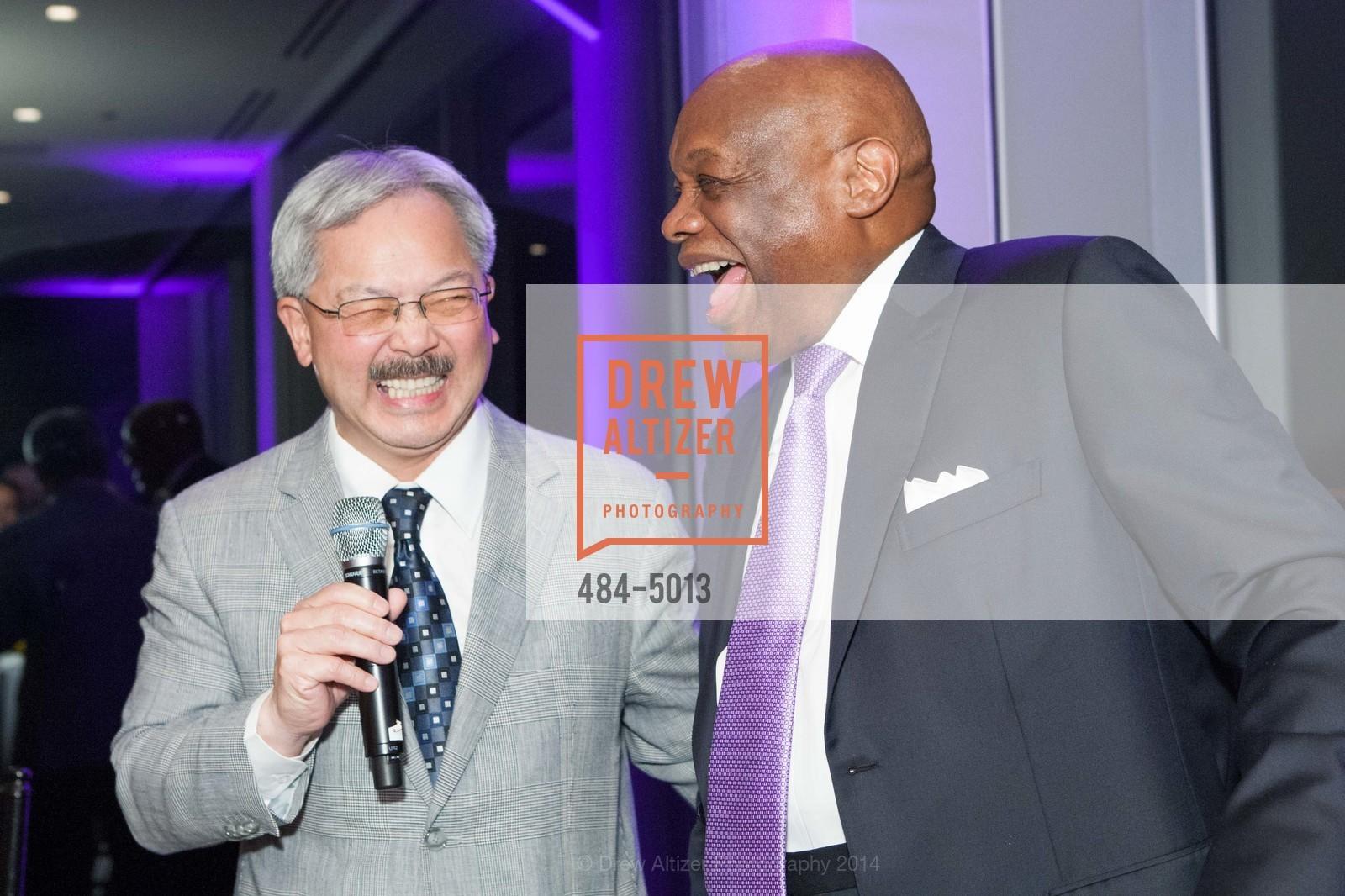 Mayor Ed Lee, Willie Brown, Photo #484-5013