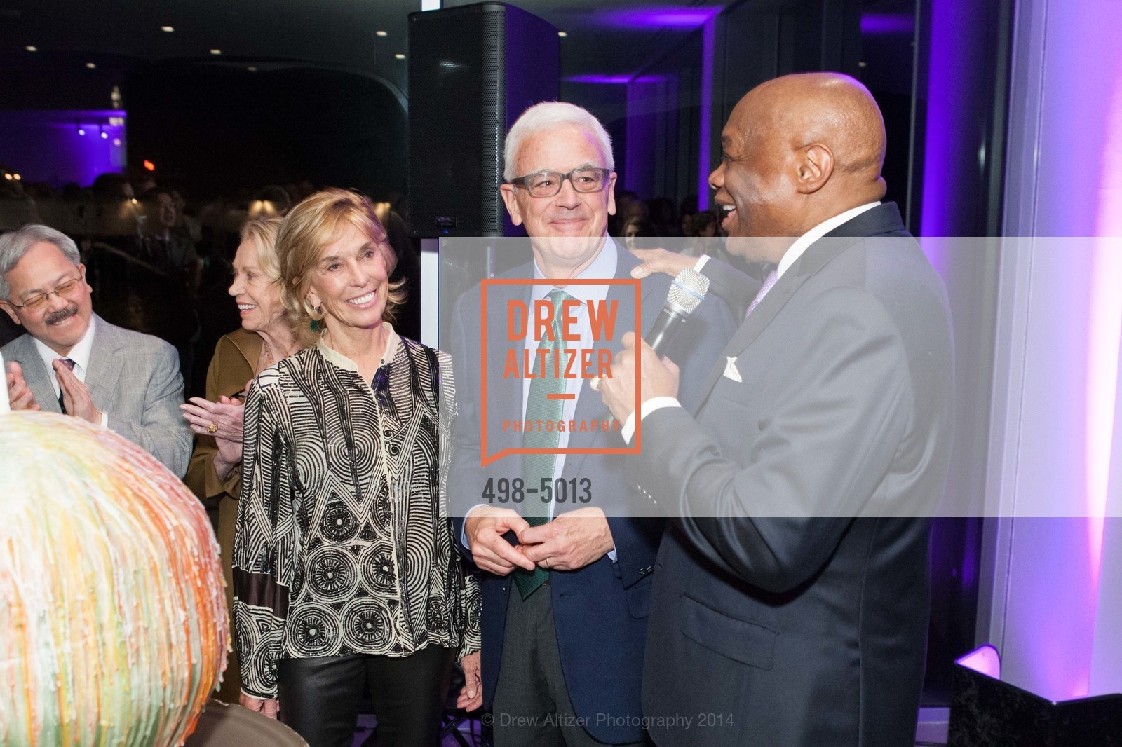 Mary Pilara, Andrew Pilara, Willie Brown, Photo #498-5013
