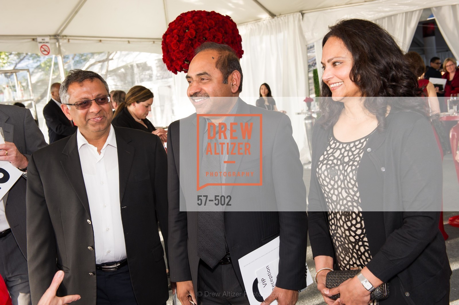 Sanjeev Kumar, Sagar Anisingaraju, Latha Anisingaraju, 2014 RED CROSS Gala Honoring Paula Downey as the American Red Cross Bay Area Chapter Humanitarian CEO of the Year, US. Treasure Island (The Great Lawn), April 5th, 2014,Drew Altizer, Drew Altizer Photography, full-service agency, private events, San Francisco photographer, photographer california