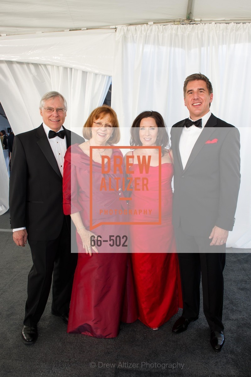 Roger van Craeynest, Mary Cranston, Deborah Tomlin, Lance Tomlin, 2014 RED CROSS Gala Honoring Paula Downey as the American Red Cross Bay Area Chapter Humanitarian CEO of the Year, US. Treasure Island (The Great Lawn), April 5th, 2014,Drew Altizer, Drew Altizer Photography, full-service agency, private events, San Francisco photographer, photographer california
