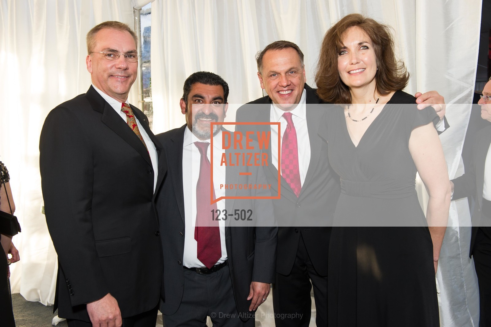 Scott Allison, Sanjay Datta, Tim Stephens, Lisa Stephens, 2014 RED CROSS Gala Honoring Paula Downey as the American Red Cross Bay Area Chapter Humanitarian CEO of the Year, US. Treasure Island (The Great Lawn), April 5th, 2014,Drew Altizer, Drew Altizer Photography, full-service agency, private events, San Francisco photographer, photographer california