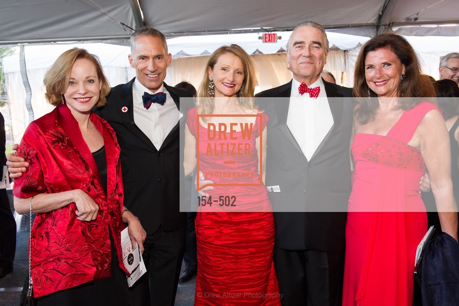 Janice Zakin, Mark Cloutier, Gerlind Rothen, Peter Rothen, Linda Zider, 2014 RED CROSS Gala Honoring Paula Downey as the American Red Cross Bay Area Chapter Humanitarian CEO of the Year, US. Treasure Island (The Great Lawn), April 5th, 2014,Drew Altizer, Drew Altizer Photography, full-service agency, private events, San Francisco photographer, photographer california