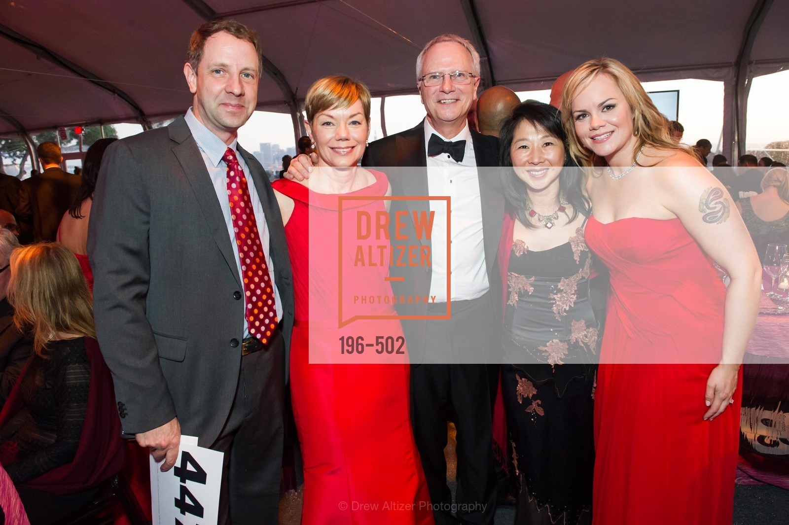 Greg McGlinn, Paula Downey, Michael Downey, May McGlinn, Sarah Downey, 2014 RED CROSS Gala Honoring Paula Downey as the American Red Cross Bay Area Chapter Humanitarian CEO of the Year, US. Treasure Island (The Great Lawn), April 5th, 2014,Drew Altizer, Drew Altizer Photography, full-service agency, private events, San Francisco photographer, photographer california