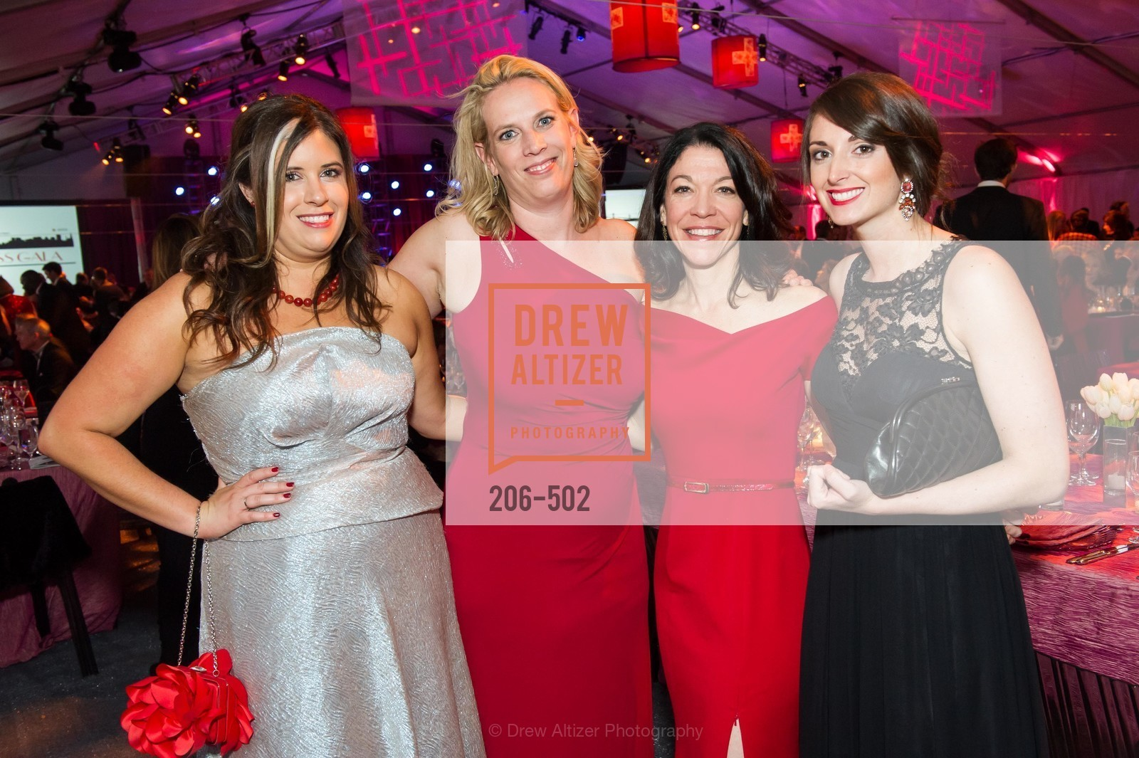 Ashley de Smeth, Erin Gore, Lisa DeCarlo, Madison Ginnett, 2014 RED CROSS Gala Honoring Paula Downey as the American Red Cross Bay Area Chapter Humanitarian CEO of the Year, US. Treasure Island (The Great Lawn), April 5th, 2014,Drew Altizer, Drew Altizer Photography, full-service agency, private events, San Francisco photographer, photographer california