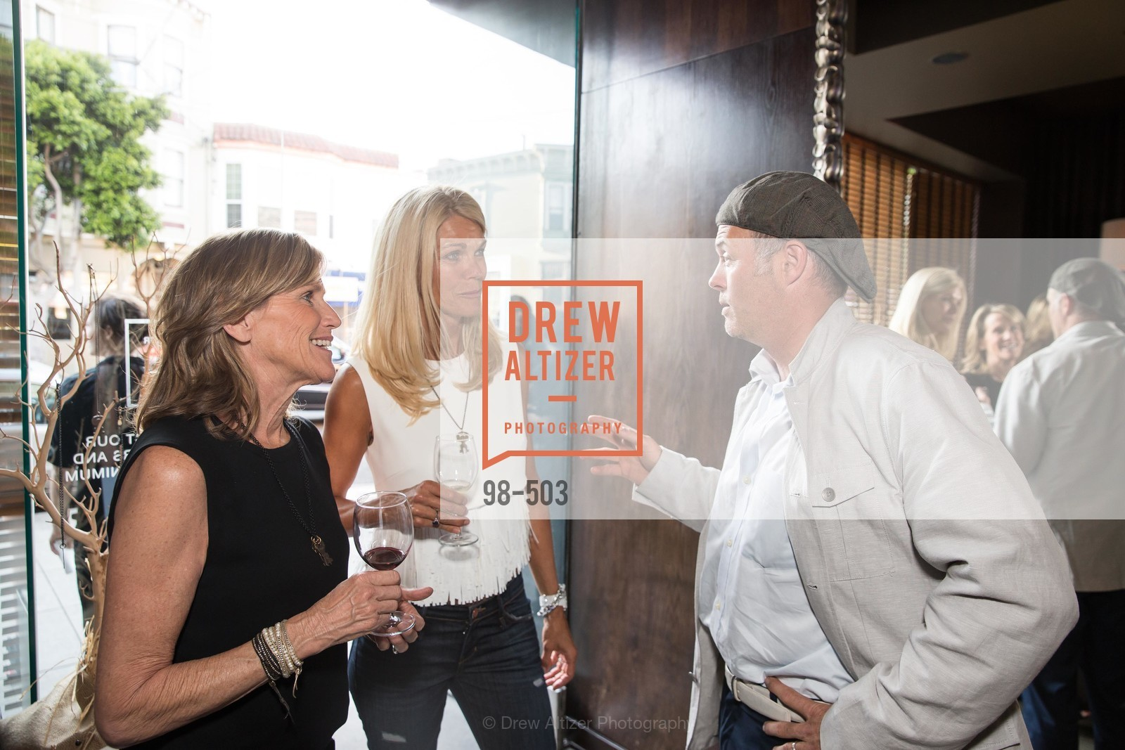 Julie Wallunas, Jennifer Montana, Geoff Callan, NFL CELEBRITY Bartending Event, US. US, April 7th, 2014,Drew Altizer, Drew Altizer Photography, full-service agency, private events, San Francisco photographer, photographer california