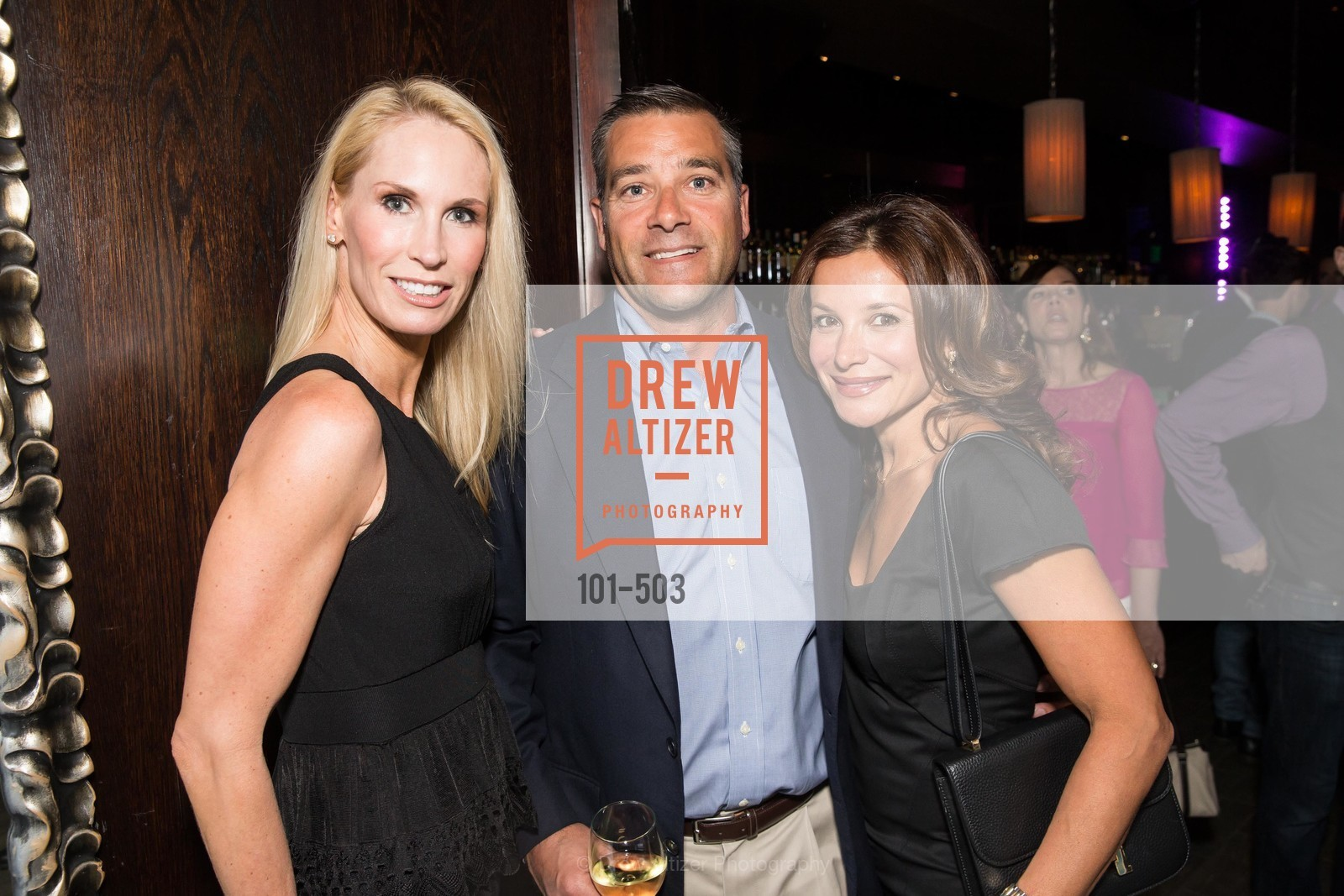 Krista Giovara, Aaron Giovara, Claudia Ross, NFL CELEBRITY Bartending Event, US. US, April 7th, 2014,Drew Altizer, Drew Altizer Photography, full-service agency, private events, San Francisco photographer, photographer california