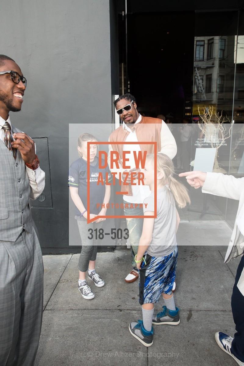 Joshn Johnson, Marshawn Lynch, NFL CELEBRITY Bartending Event, US. US, April 7th, 2014,Drew Altizer, Drew Altizer Photography, full-service agency, private events, San Francisco photographer, photographer california