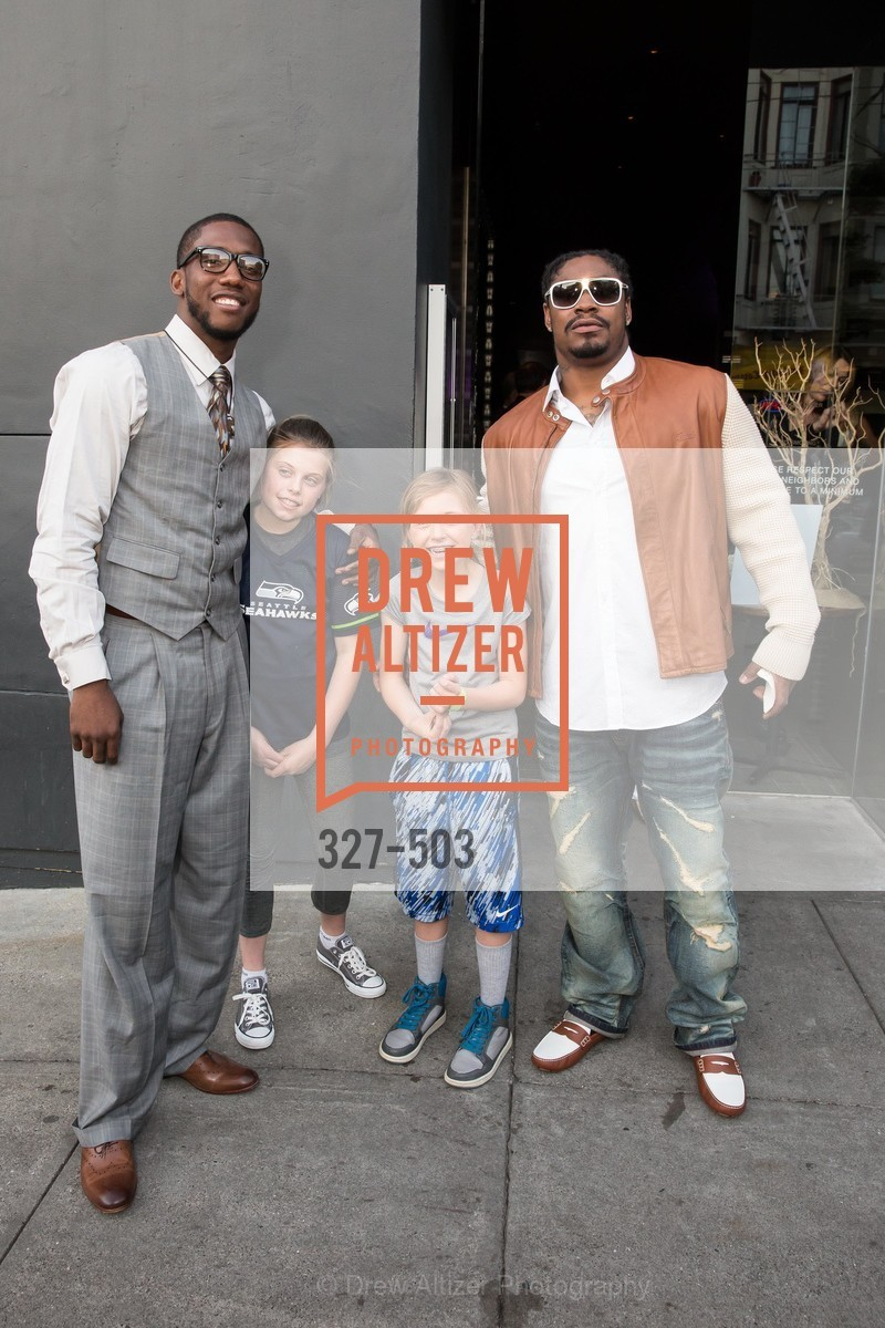 Joshn Johnson, Marshawn Lynch, NFL CELEBRITY Bartending Event, US. US, April 7th, 2014,Drew Altizer, Drew Altizer Photography, full-service agency, private events, San Francisco photographer, photographer california