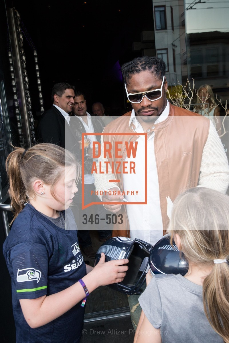 Marshawn Lynch, NFL CELEBRITY Bartending Event, US. US, April 7th, 2014,Drew Altizer, Drew Altizer Photography, full-service agency, private events, San Francisco photographer, photographer california