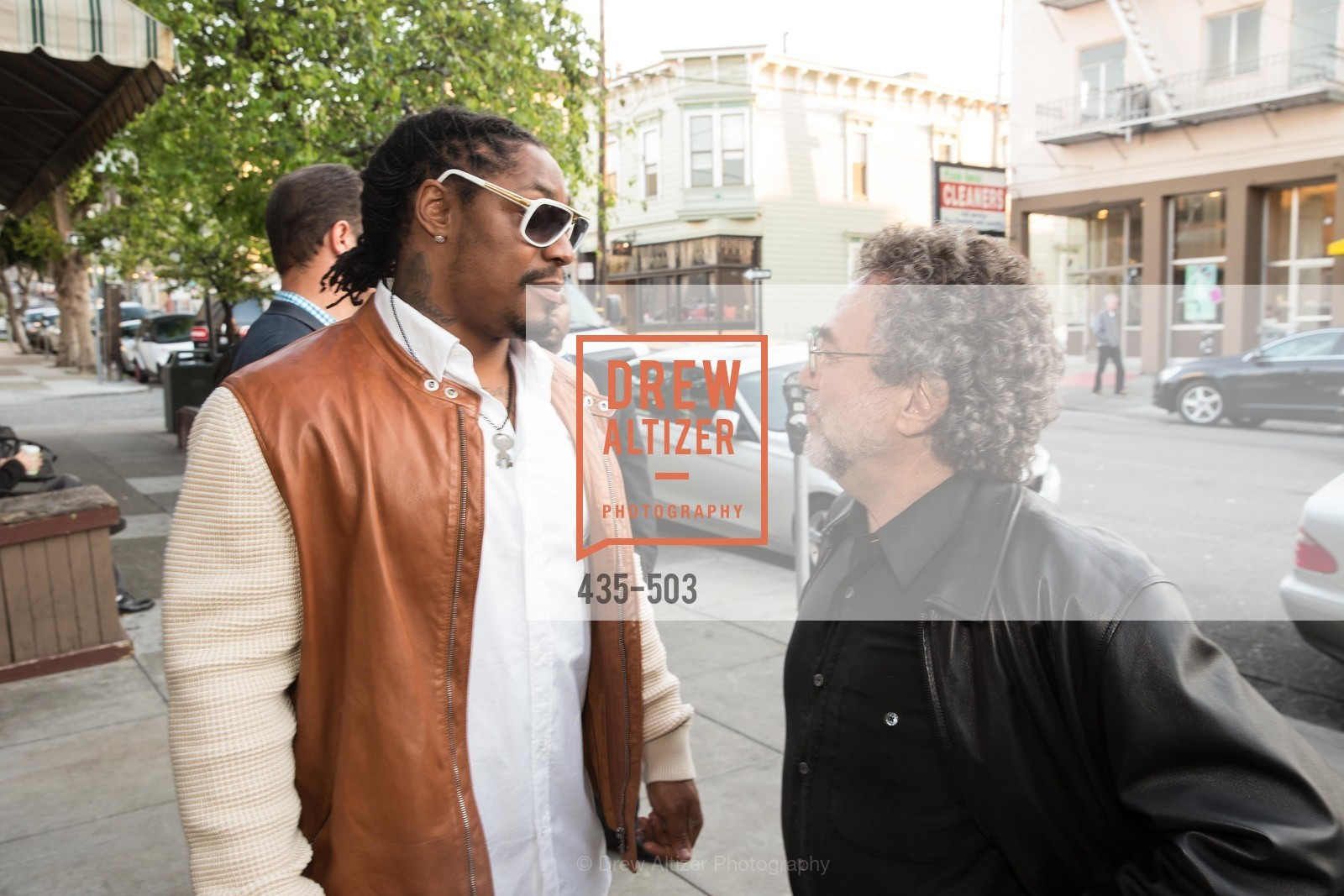 Marshawn Lynch, Gerry Schwartzbach, NFL CELEBRITY Bartending Event, US. US, April 7th, 2014,Drew Altizer, Drew Altizer Photography, full-service agency, private events, San Francisco photographer, photographer california
