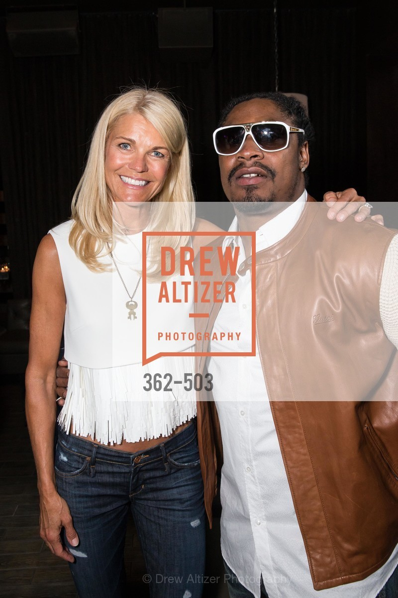 Jennifer Montana, Marshawn Lynch, NFL CELEBRITY Bartending Event, US. US, April 7th, 2014,Drew Altizer, Drew Altizer Photography, full-service agency, private events, San Francisco photographer, photographer california