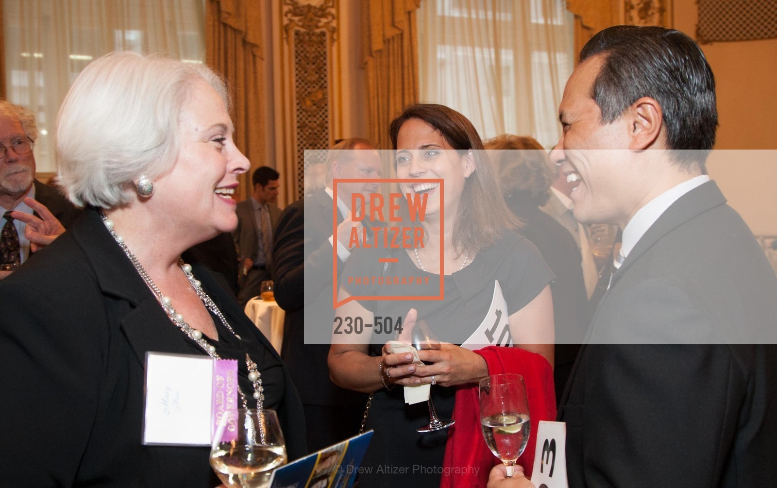 Mary Huss, Jennifer Wen, Don Wen, COMMONWEALTH CLUB'S Annual Distinguished Citizen Award Dinner, US. US, April 8th, 2014