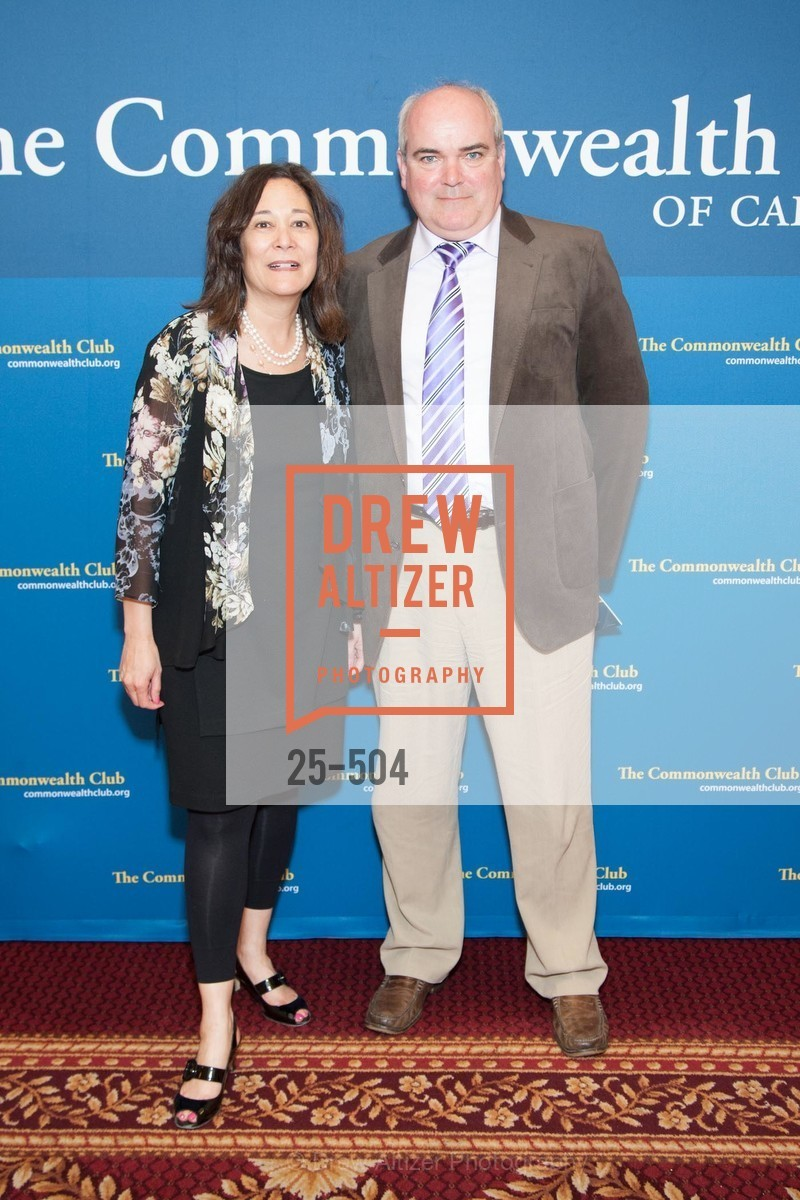 Diana Baughman, Chris Cox, COMMONWEALTH CLUB'S Annual Distinguished Citizen Award Dinner, US. US, April 8th, 2014