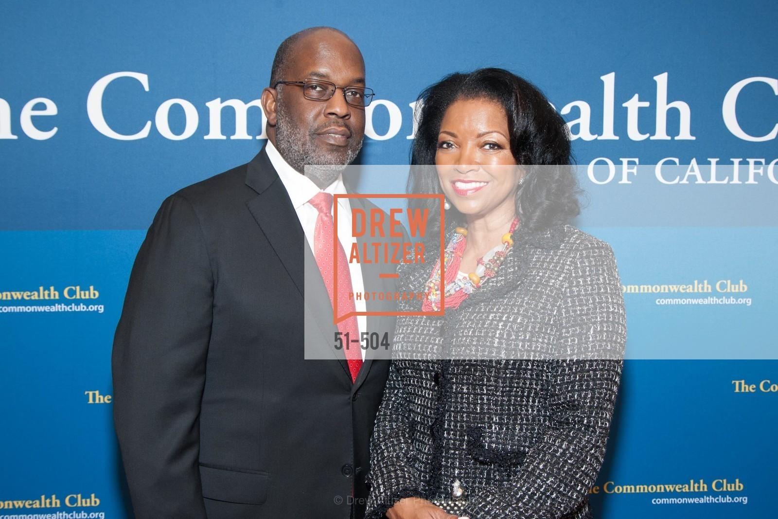 Bernard Tyson, Denise Bradley-Tyson, Photo #51-504