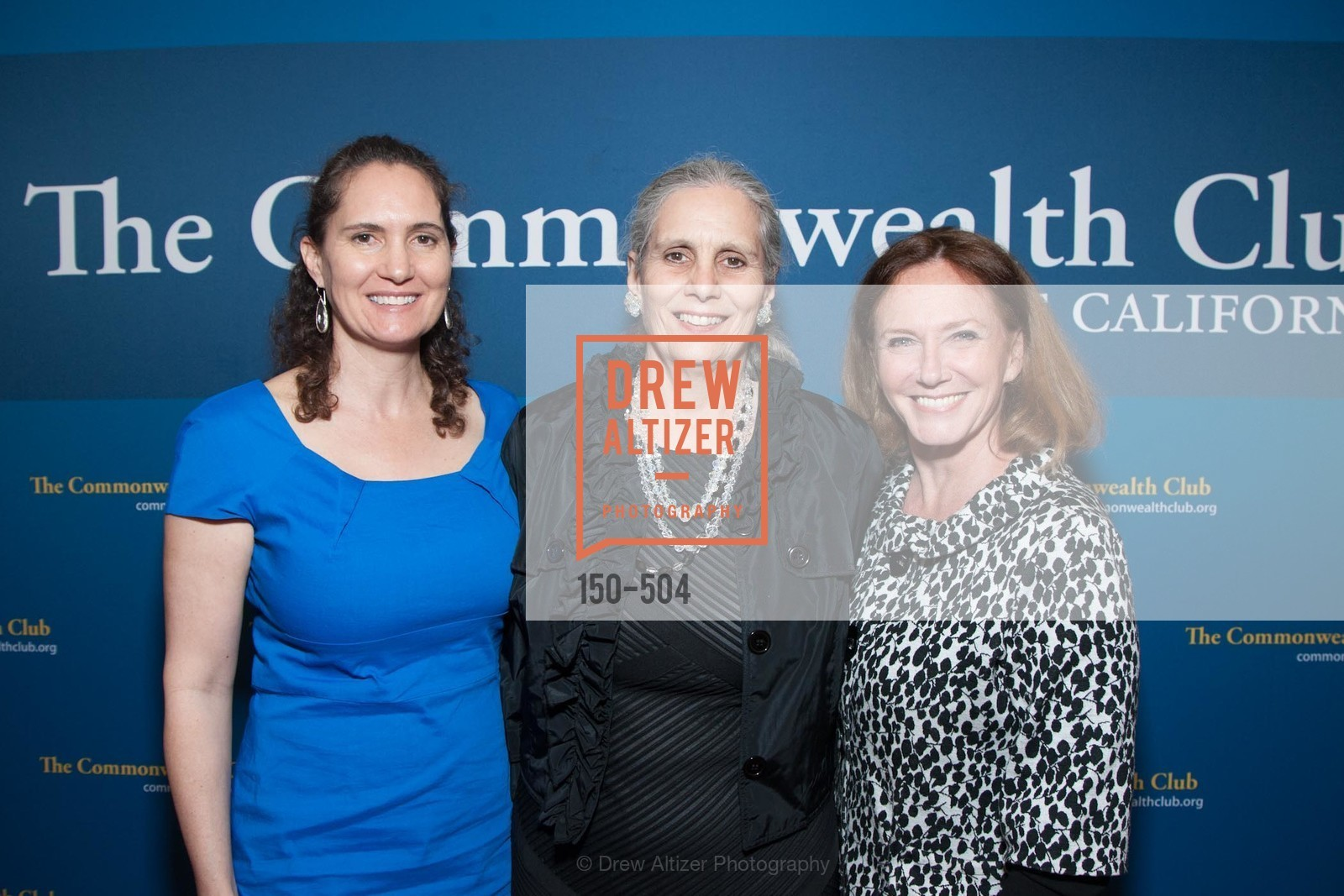 Leslie Garvin, Gloria Duffy, Colleen Wilcox, COMMONWEALTH CLUB'S Annual Distinguished Citizen Award Dinner, US. US, April 8th, 2014,Drew Altizer, Drew Altizer Photography, full-service agency, private events, San Francisco photographer, photographer california
