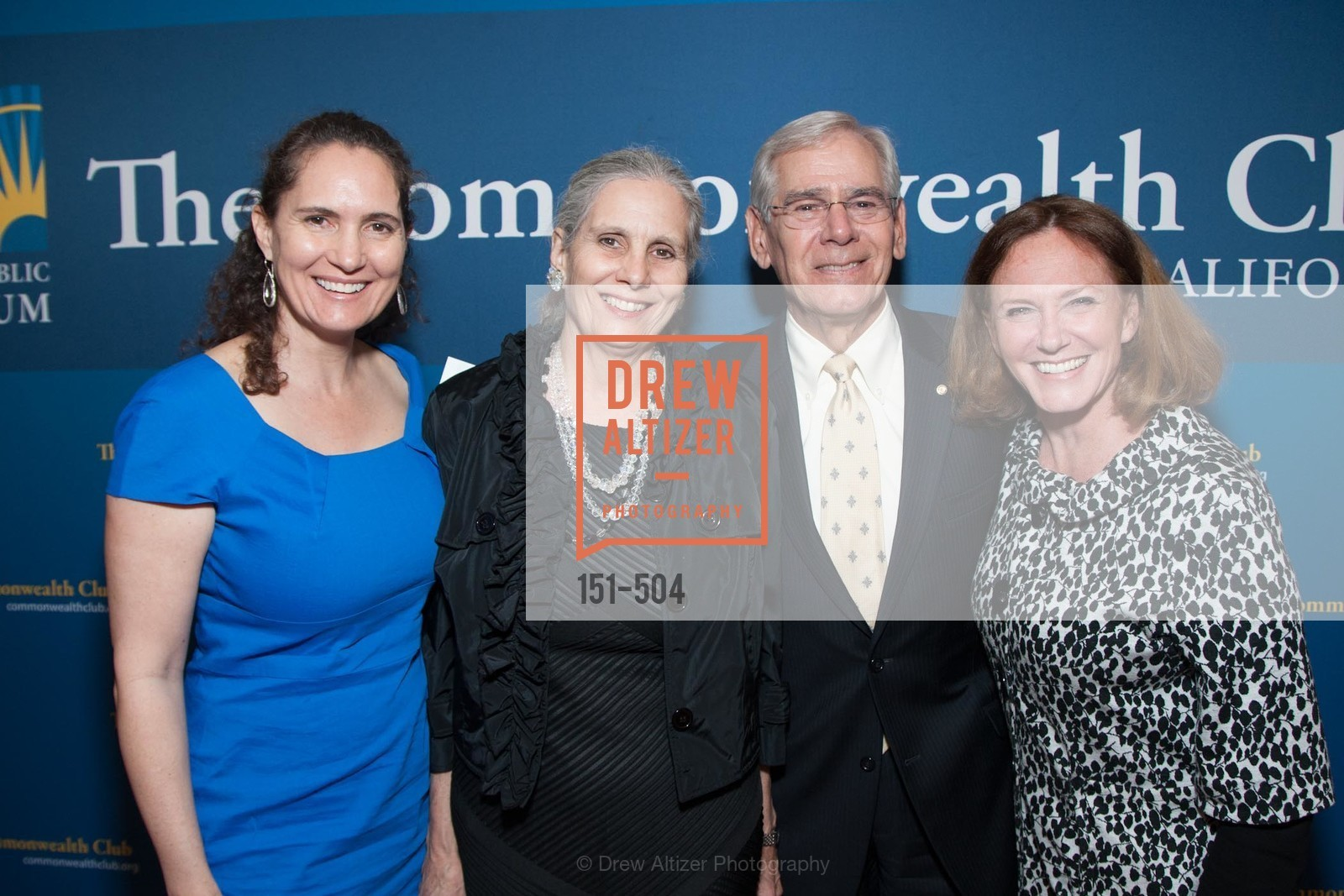 Leslie Garvin, Gloria Duffy, Rod Diridon, Colleen Wilcox, COMMONWEALTH CLUB'S Annual Distinguished Citizen Award Dinner, US. US, April 8th, 2014,Drew Altizer, Drew Altizer Photography, full-service agency, private events, San Francisco photographer, photographer california