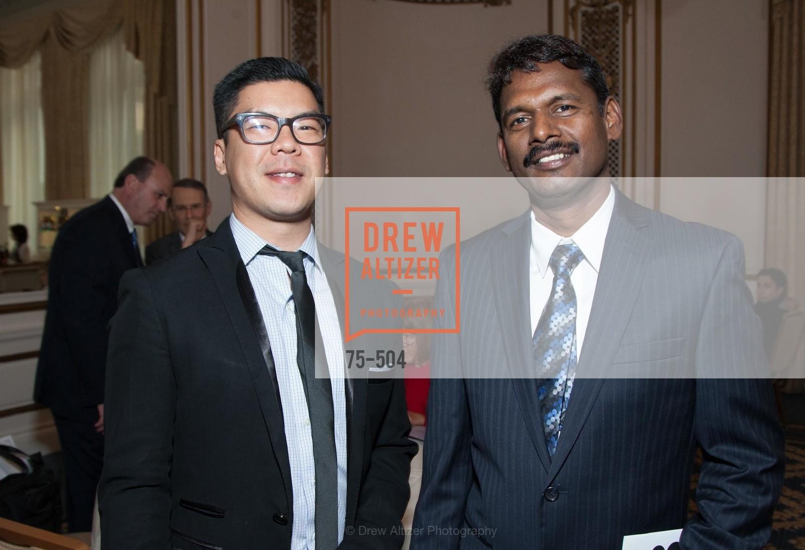 Carlo Almendral, Gopal Elumalai, COMMONWEALTH CLUB'S Annual Distinguished Citizen Award Dinner, US. US, April 8th, 2014