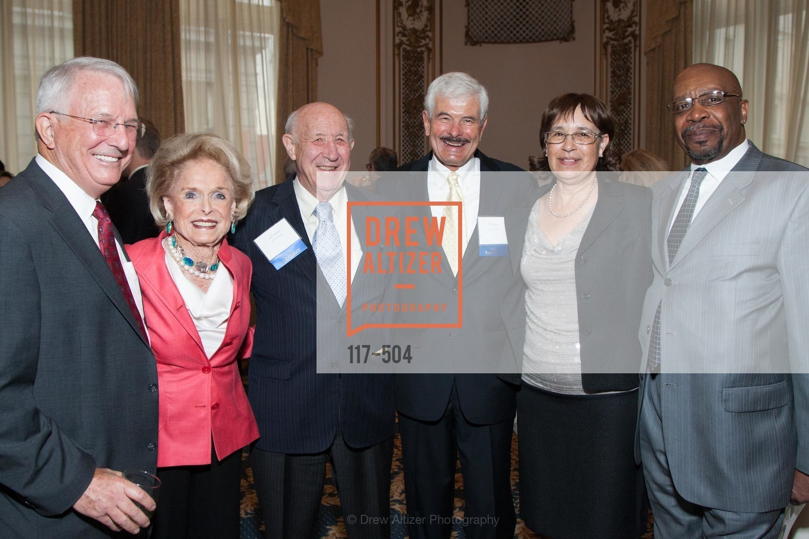 Howard Hoover, Harriet Quarre, Dennis Bonney, Vic Revenko, Peggy Grumfield, Jim Grumfield, COMMONWEALTH CLUB'S Annual Distinguished Citizen Award Dinner, US. US, April 8th, 2014,Drew Altizer, Drew Altizer Photography, full-service agency, private events, San Francisco photographer, photographer california