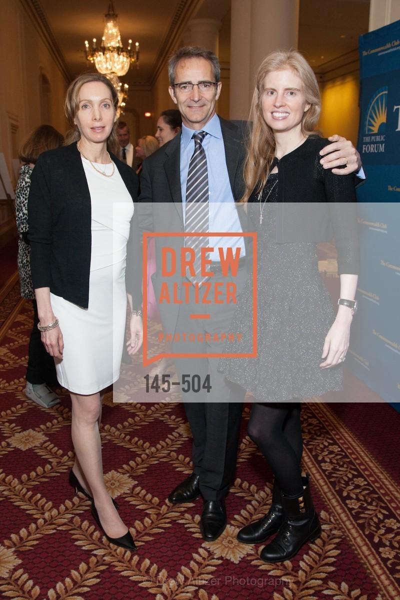Susan Liautaud, Bernard Liautaud, Laura Arrillaga-Andreessen, Photo #145-504