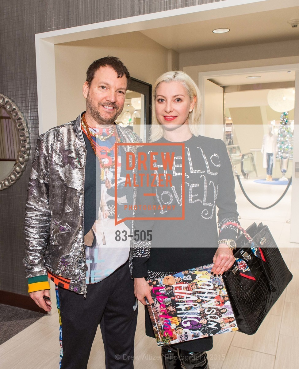Johnson Hartig, Sonya Molodetskaya, Libertine Cocktail Party at Neiman Marcus, Neiman Marcus, November 10th, 2015,Drew Altizer, Drew Altizer Photography, full-service agency, private events, San Francisco photographer, photographer california