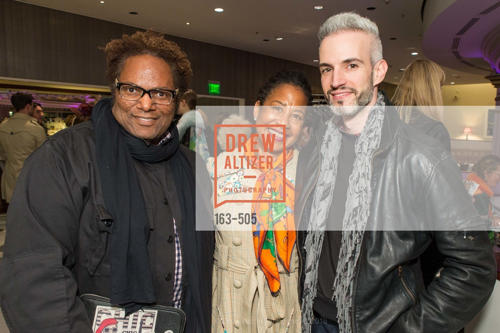 Ron Pernell, Denise Johnson, Frederic Aranda, Libertine Cocktail Party at Neiman Marcus, Neiman Marcus, November 10th, 2015,Drew Altizer, Drew Altizer Photography, full-service event agency, private events, San Francisco photographer, photographer California