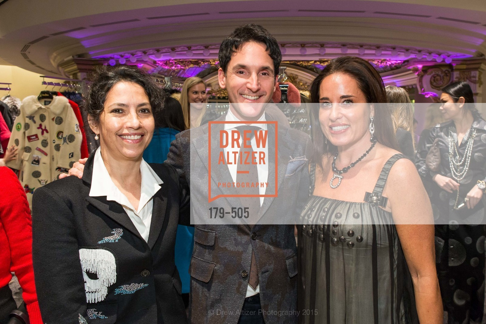 Maya Meux, James Krohn, Natalia Urrutia, Libertine Cocktail Party at Neiman Marcus, Neiman Marcus, November 10th, 2015,Drew Altizer, Drew Altizer Photography, full-service agency, private events, San Francisco photographer, photographer california