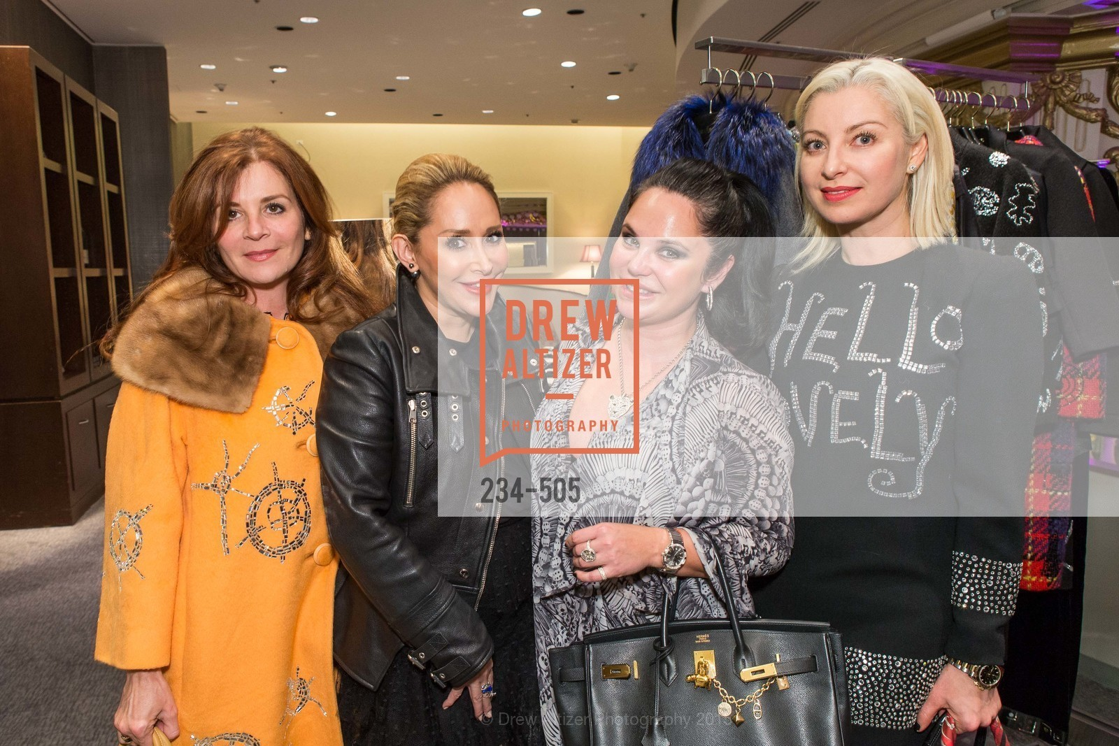 Farah Makras, Brenda Zarate, Rada Katz, Sonya Molodetskaya, Libertine Cocktail Party at Neiman Marcus, Neiman Marcus, November 10th, 2015,Drew Altizer, Drew Altizer Photography, full-service agency, private events, San Francisco photographer, photographer california