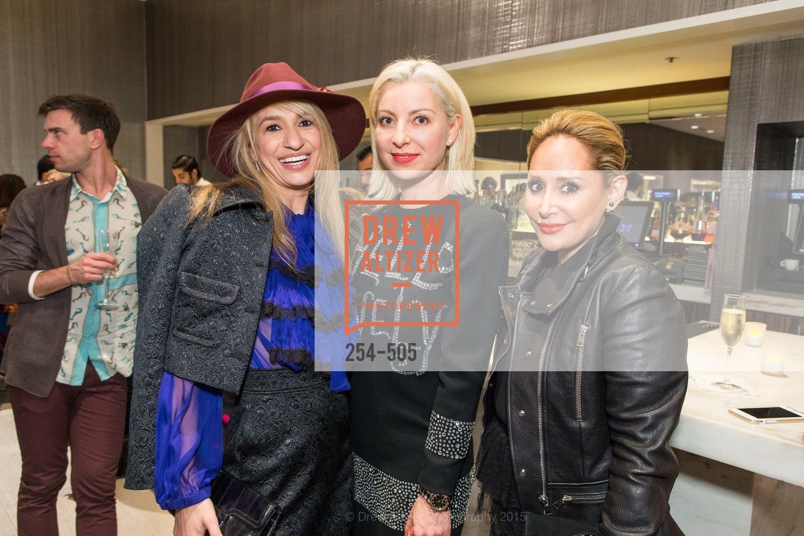 Navid Armstrong, Sonya Molodetskaya, Brenda Zarate, Libertine Cocktail Party at Neiman Marcus, Neiman Marcus, November 10th, 2015,Drew Altizer, Drew Altizer Photography, full-service agency, private events, San Francisco photographer, photographer california