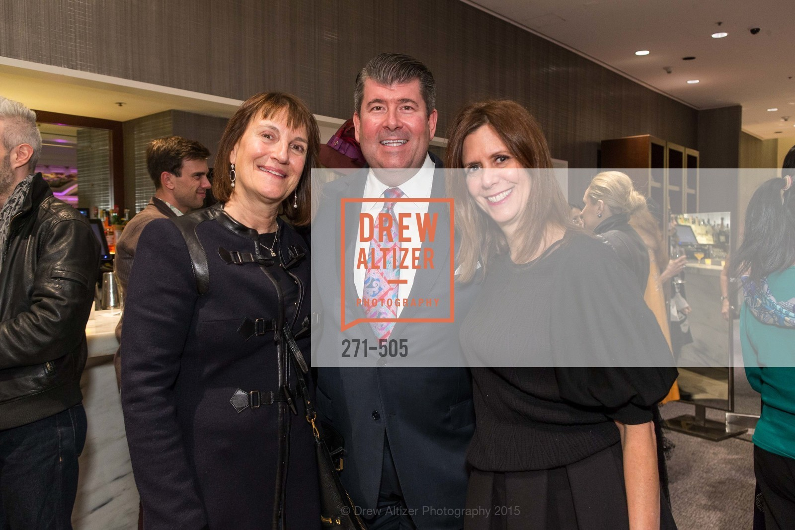 Debby Sagues, Alan Morrell, Donna Berg, Libertine Cocktail Party at Neiman Marcus, Neiman Marcus, November 10th, 2015
