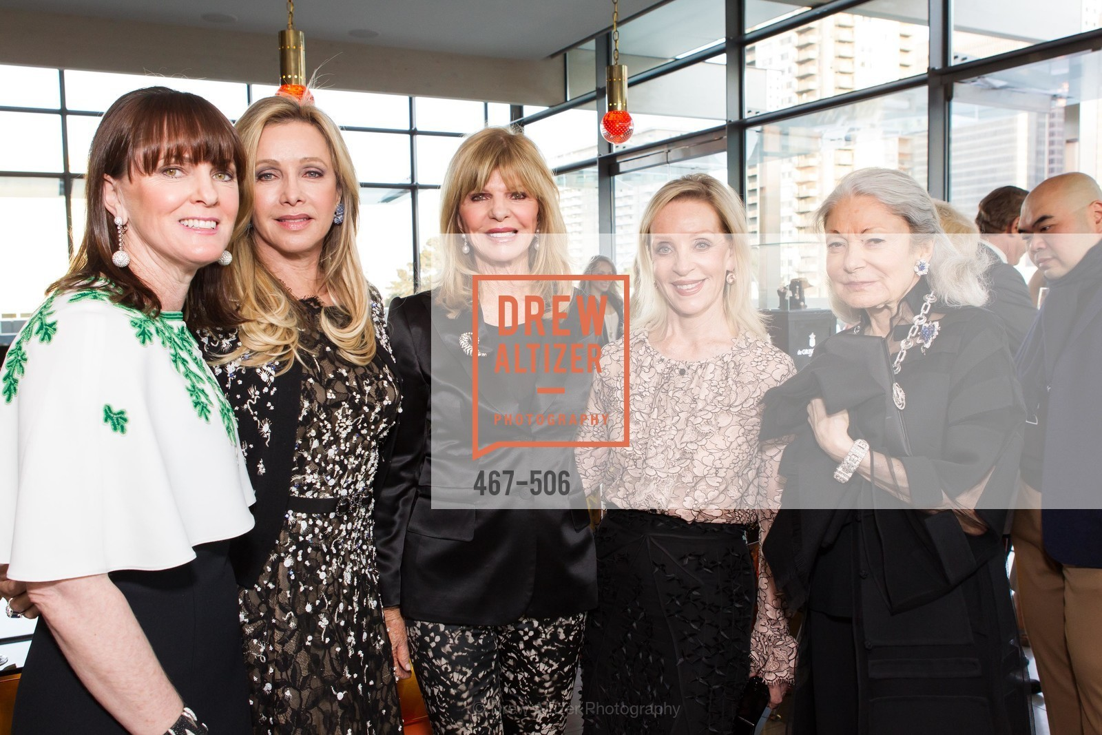 Allison Speer, Lauren King, Susan Niven, Barbara Brown, Denise Hale, 140408-grisogono-final, US. US, April 9th, 2014,Drew Altizer, Drew Altizer Photography, full-service agency, private events, San Francisco photographer, photographer california