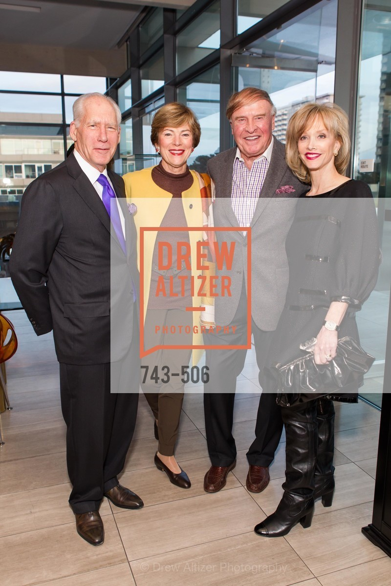 Gary Shansby, Pam Kramlich, Dick Kramlich, OJ Shansby, 140408-grisogono-final, US. US, April 9th, 2014,Drew Altizer, Drew Altizer Photography, full-service agency, private events, San Francisco photographer, photographer california