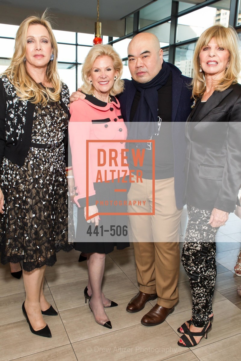 Lauren King, Dede Wilsey, Andrew Gn, Susan Niven, 140408-grisogono-final, US. US, April 9th, 2014