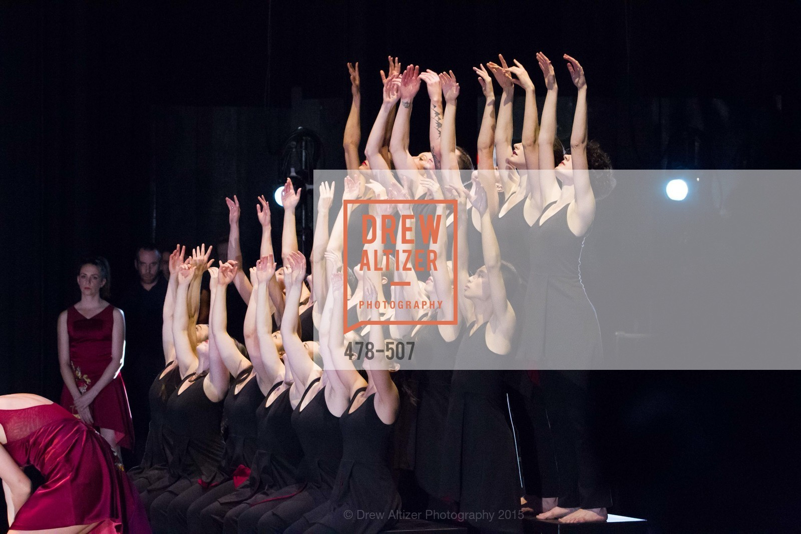 Backstage, Cancer Prevention Institute of California Presents DanceFAR, YBCA Theatre and Forum. 701 Mission Street, November 10th, 2015