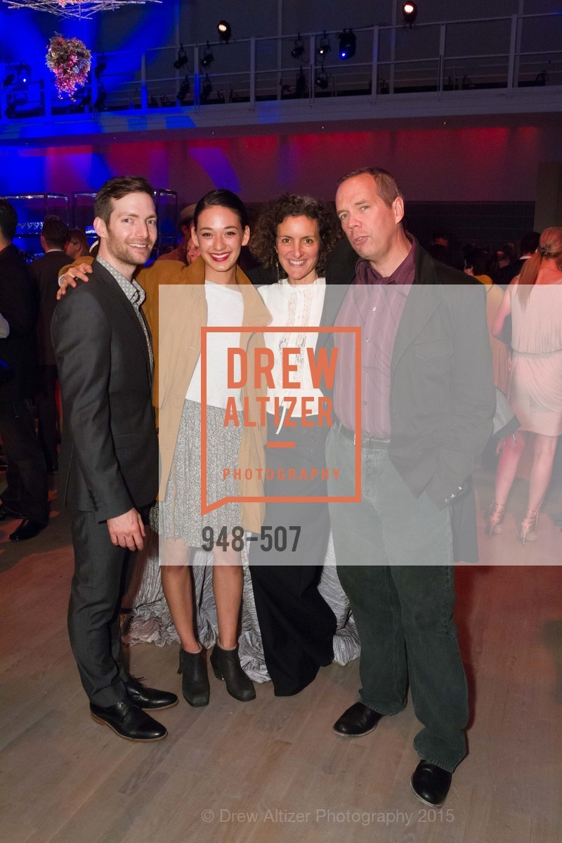Garen Anderson, Adrienne Lipson, Kiko Mellon, Steven Teksarich, Cancer Prevention Institute of California Presents DanceFAR, YBCA Theatre and Forum. 701 Mission Street, November 10th, 2015,Drew Altizer, Drew Altizer Photography, full-service event agency, private events, San Francisco photographer, photographer California