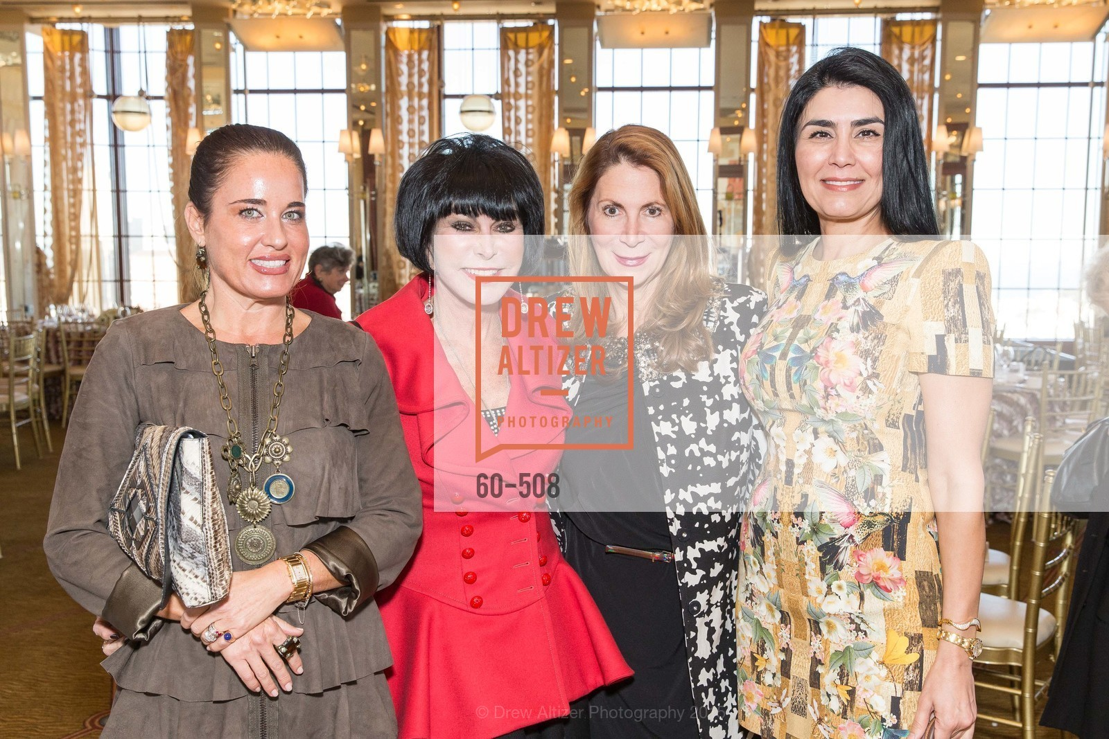 Natalia Urrutia, Marilyn Cabak, Patricia Ferrin Loucks, Afsaneh Akhtari, San Francisco Opera Guild Annual Meeting & Luncheon, The Westin St. Francis Union Square. 335 Powell St, November 10th, 2015,Drew Altizer, Drew Altizer Photography, full-service agency, private events, San Francisco photographer, photographer california