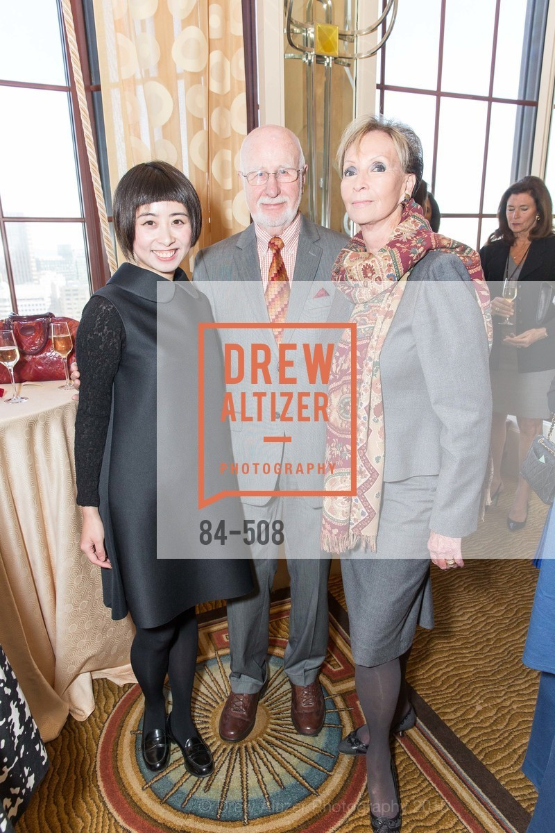 Yuka Uehara, George Lucas, Sallie Huntting, San Francisco Opera Guild Annual Meeting & Luncheon, The Westin St. Francis Union Square. 335 Powell St, November 10th, 2015,Drew Altizer, Drew Altizer Photography, full-service agency, private events, San Francisco photographer, photographer california
