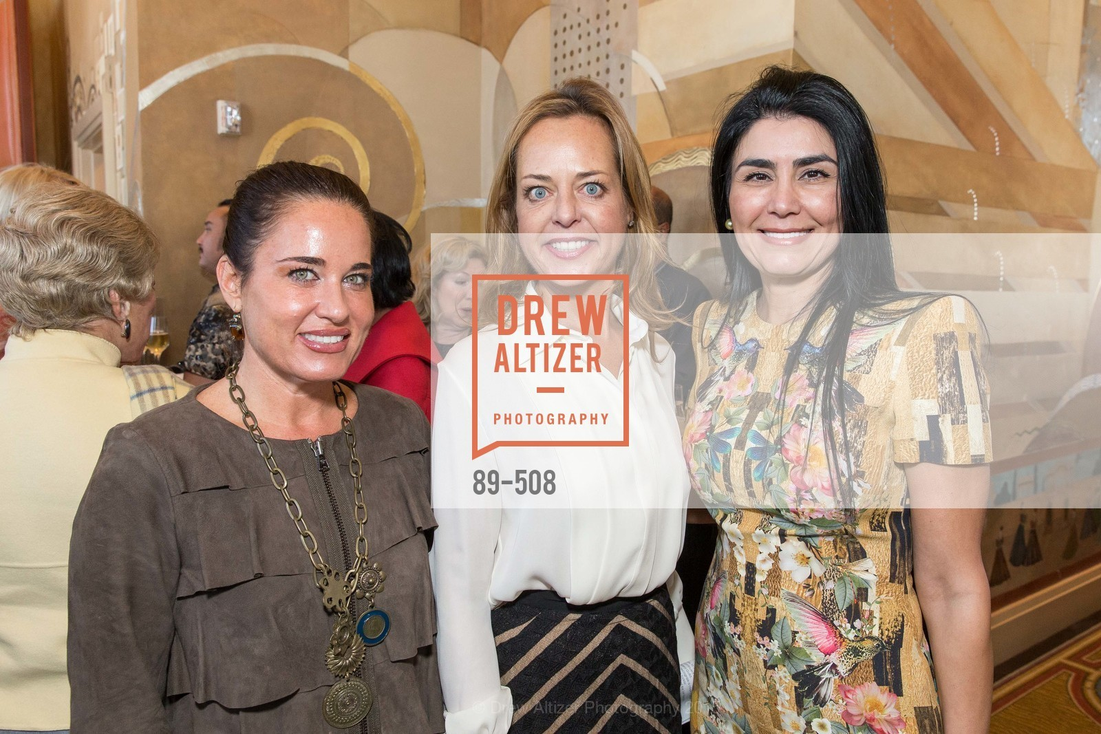 Natalia Urrutia, Charlot Malin, Afsaneh Akhtari, San Francisco Opera Guild Annual Meeting & Luncheon, The Westin St. Francis Union Square. 335 Powell St, November 10th, 2015,Drew Altizer, Drew Altizer Photography, full-service agency, private events, San Francisco photographer, photographer california