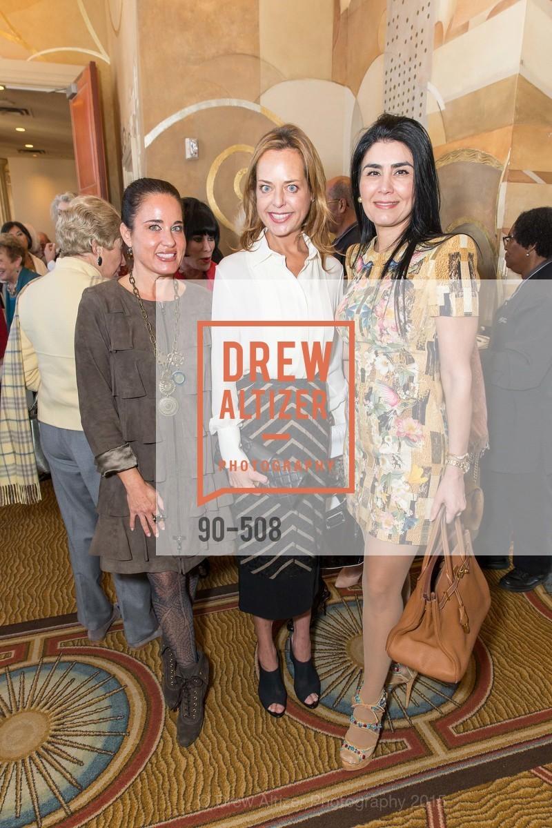 Natalia Urrutia, Charlot Malin, Afsaneh Akhtari, San Francisco Opera Guild Annual Meeting & Luncheon, The Westin St. Francis Union Square. 335 Powell St, November 10th, 2015