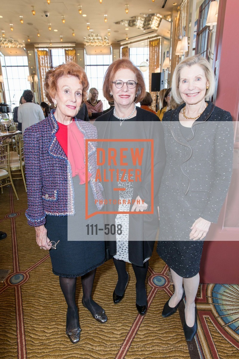 Phoebe Cowles, Romana Bracco, Barbara Traisman, San Francisco Opera Guild Annual Meeting & Luncheon, The Westin St. Francis Union Square. 335 Powell St, November 10th, 2015,Drew Altizer, Drew Altizer Photography, full-service agency, private events, San Francisco photographer, photographer california