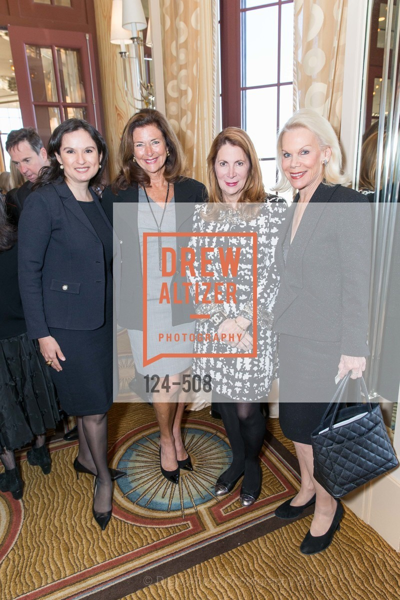 Veronica Watson, Linda Zider, Patricia Ferrin Loucks, Sandra Farris, San Francisco Opera Guild Annual Meeting & Luncheon, The Westin St. Francis Union Square. 335 Powell St, November 10th, 2015
