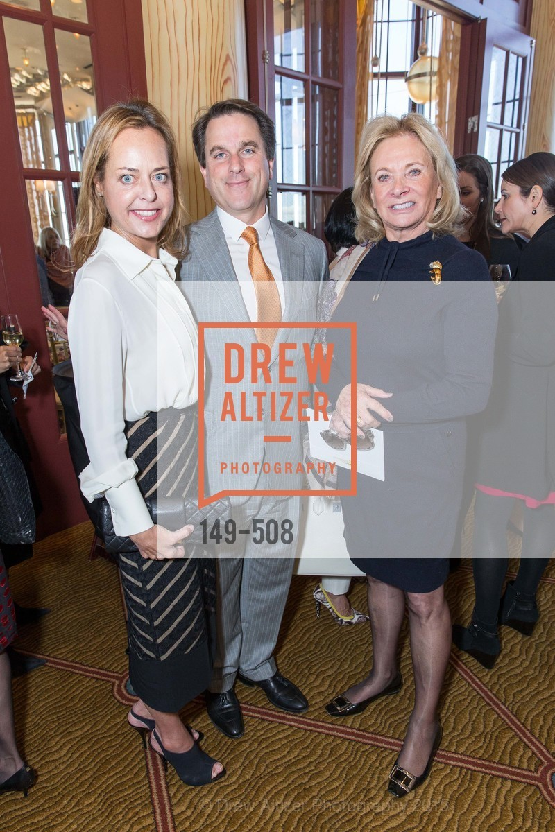 Charlot Malin, Gregory Malin, Sara Hills, San Francisco Opera Guild Annual Meeting & Luncheon, The Westin St. Francis Union Square. 335 Powell St, November 10th, 2015,Drew Altizer, Drew Altizer Photography, full-service agency, private events, San Francisco photographer, photographer california