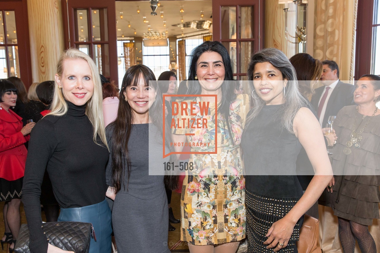 Shannon Cronan, France Szeto, Afsaneh Akhtari, Deepa Pakianathan, San Francisco Opera Guild Annual Meeting & Luncheon, The Westin St. Francis Union Square. 335 Powell St, November 10th, 2015,Drew Altizer, Drew Altizer Photography, full-service agency, private events, San Francisco photographer, photographer california
