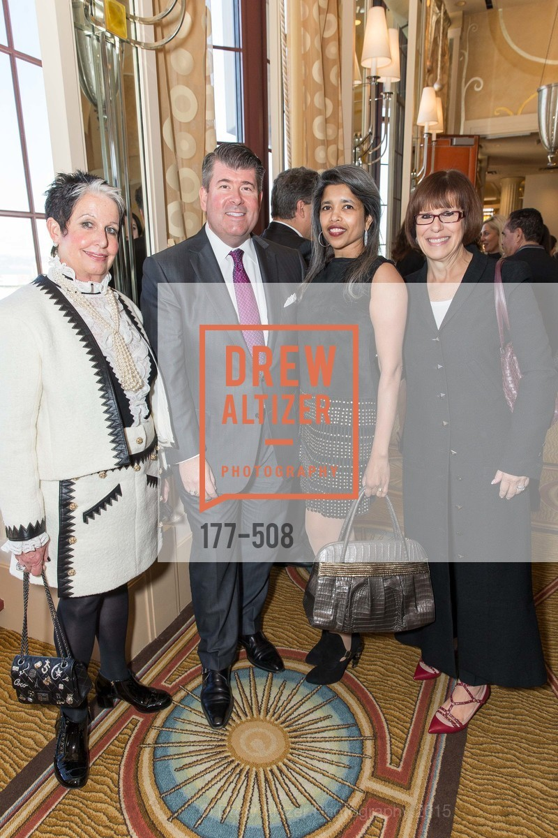 Karen Kubin, Alan Morrell, Deepa Pakianathan, Terri Mino, San Francisco Opera Guild Annual Meeting & Luncheon, The Westin St. Francis Union Square. 335 Powell St, November 10th, 2015,Drew Altizer, Drew Altizer Photography, full-service event agency, private events, San Francisco photographer, photographer California